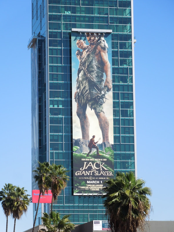 Jack Giant Slayer movie billboard
