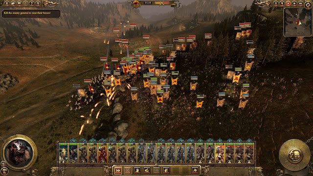 Total War: Warhammer, Call Of The Beastmen fall of man quest battle