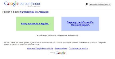 person finder google lo