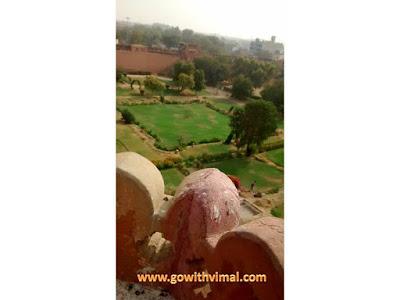 Junagarh fort lawns