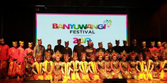 Launching Banyuwangi Festival 2017 di Jakarta.