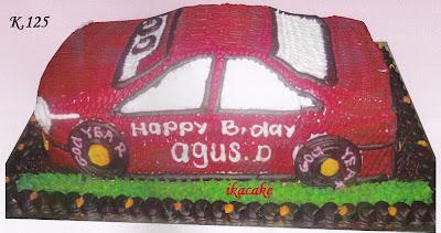 Kue Ulang Tahun 3 Dimensi Cars