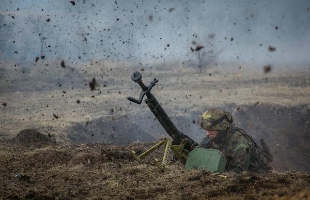 8 прицельных обстрелов позиций ВСУ