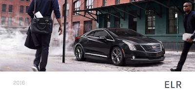 Downloadable 2016 Cadillac ELR Brochure