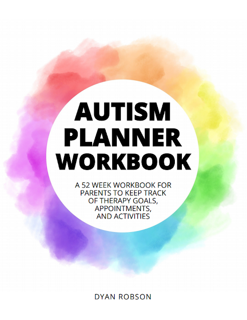 Autism Planner Workbook: A 52 week workbook for parents to keep track of therapy goals, appointments, and activities from And Next Comes L