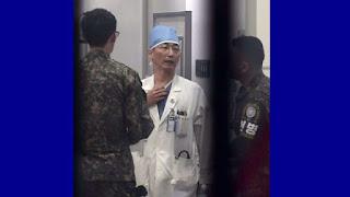 Militar norte-coreano é baleado ao fugir para a Coreia do Sul.