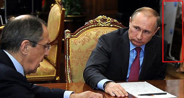 مصادر مقربة من الكرملين تكشف عن سر الجسم الغريب داخل مكتب بوتين