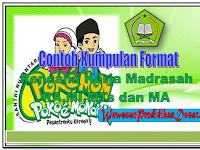Format   Rencana Kerja madrasah ( RKM ) MI,MTs dan MA