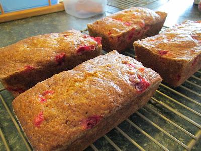 Gluten Free Cranberry Pumpkin Bread