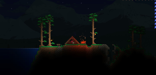 How to Make a Tent in Terraria
