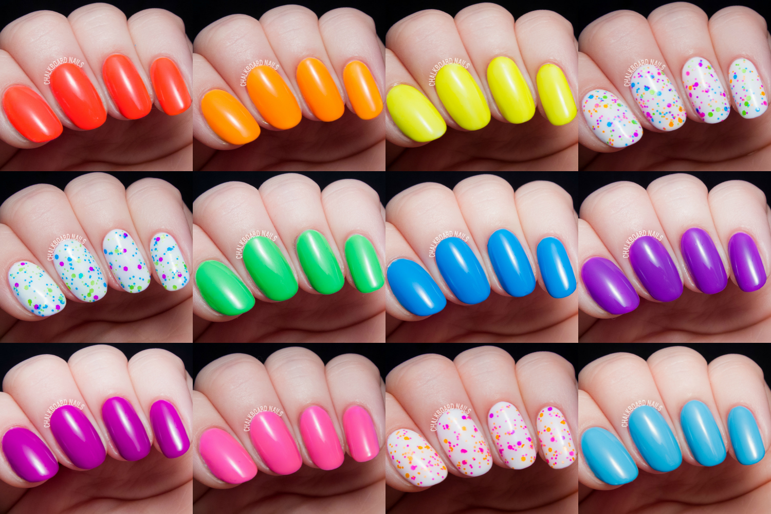 China Glaze Electric Nights for Summer 2015 Swatch and Review ...