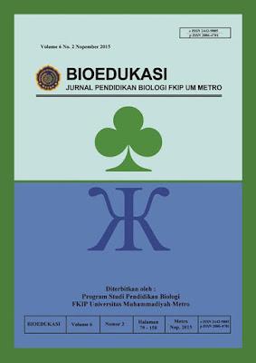 Publikasi Ilmiah : Penyusunan  Lembar Kerja Peserta Didik (LKPD) Biologi SMA Melalui Studi Keanekaragaman Makrofungi di Resor Way Kanan Balai Taman Nasional Way Kambas.