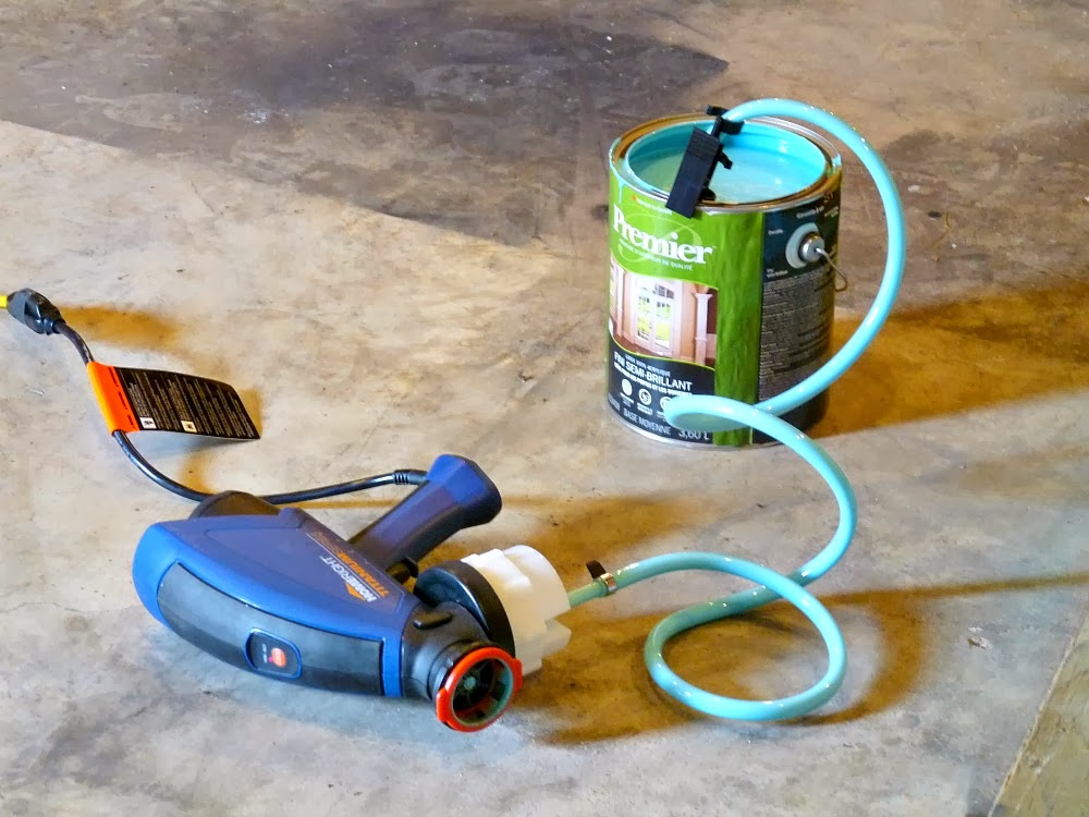 Painting The Kitchen Cabinets With A Paint Sprayer Homeright