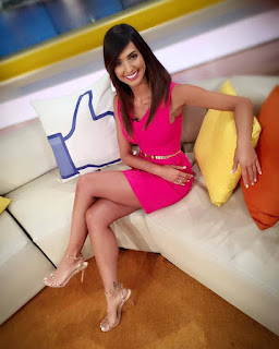 Beautiful USA TV News Reporter Pic, lovely USA TV News Reporter Pic,
