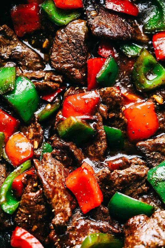 Amazing Pepper Steak Stir Fry