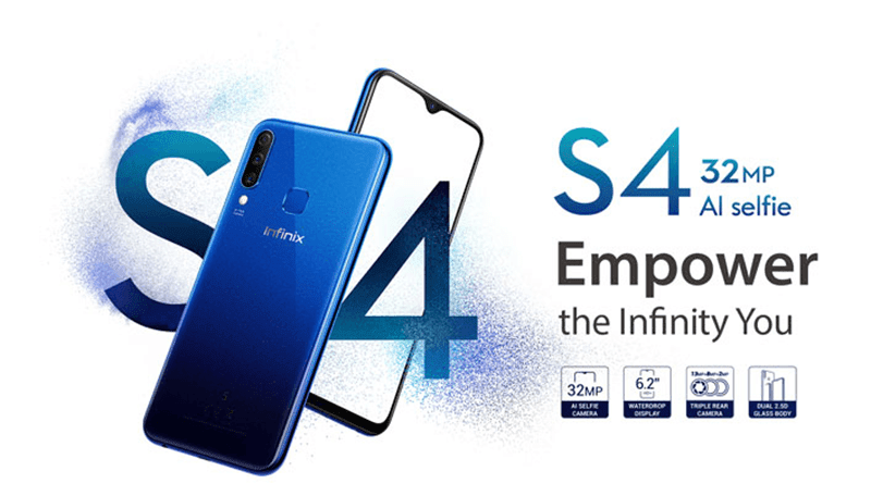 Infinix Hot S4 features