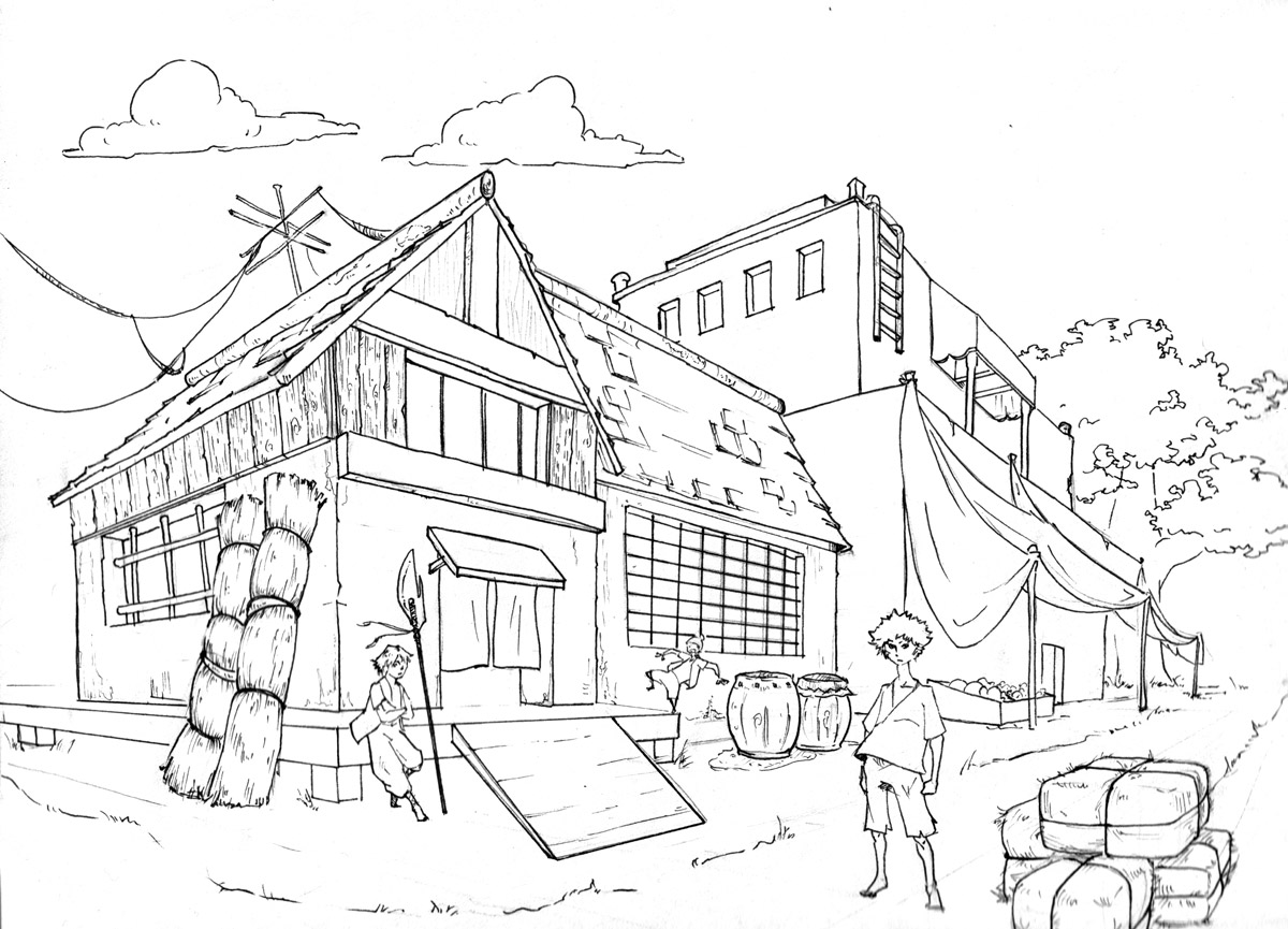 Drawing 1 Two Point Perspective