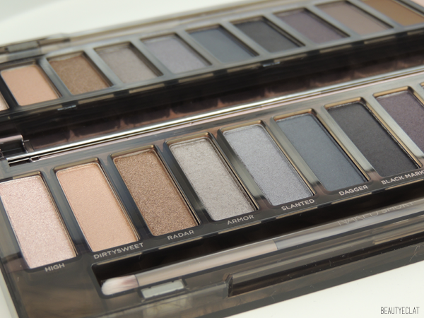 revue avis test swatch urban decay naked smoky tutoriel