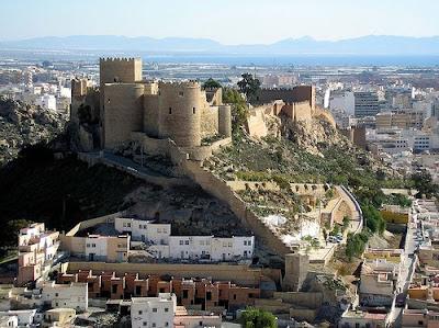 Almería alcazaba turismo