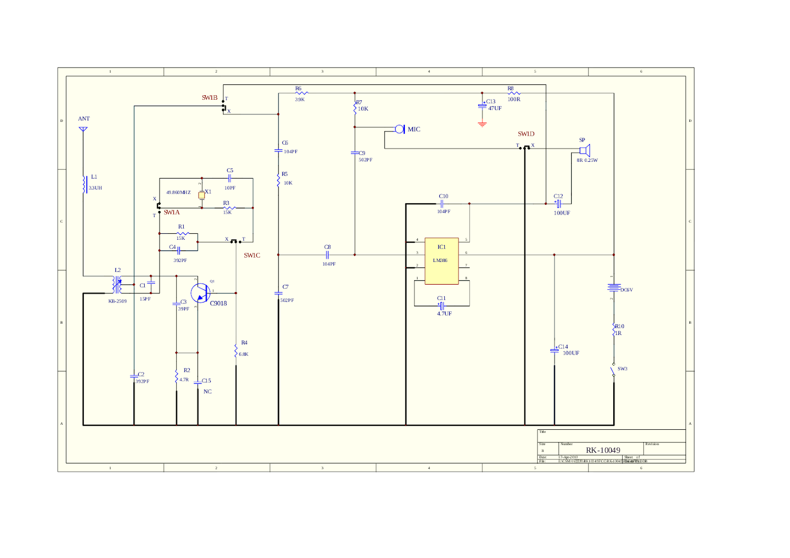 Toy walkie talkie circuit diagram asfbconference2016 Images