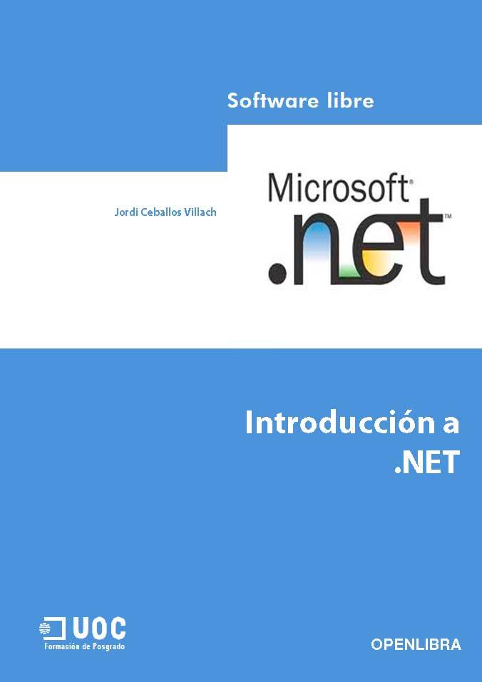 Introducción a .NET – Jordi Ceballos Villach