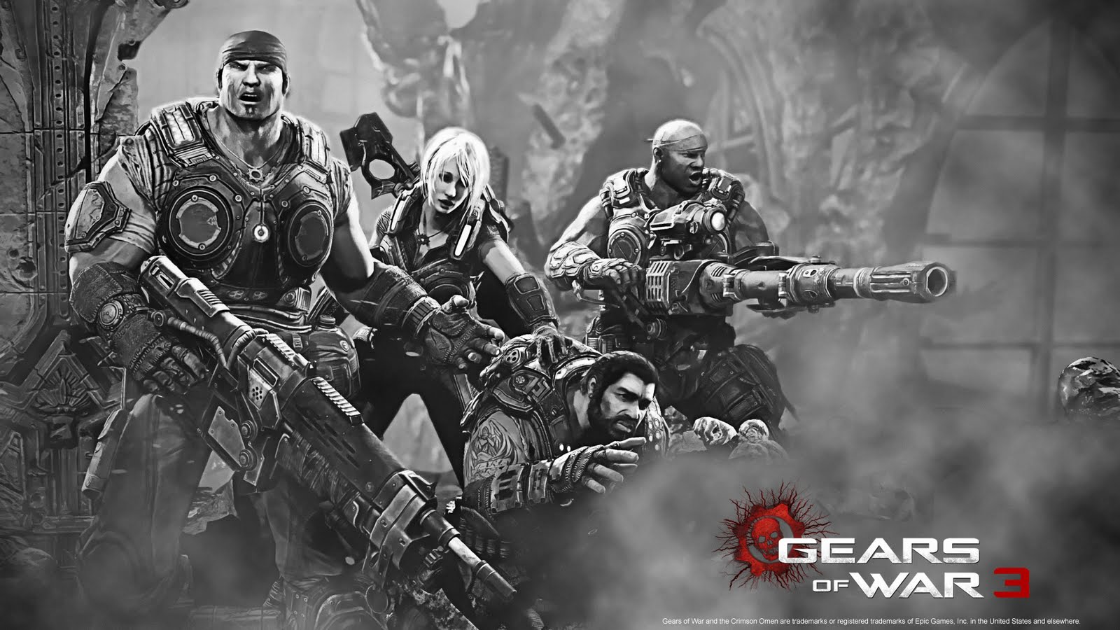 Gears Of War 3 Hd Wallpapers For Android: Wallpaper HD Gears Of War