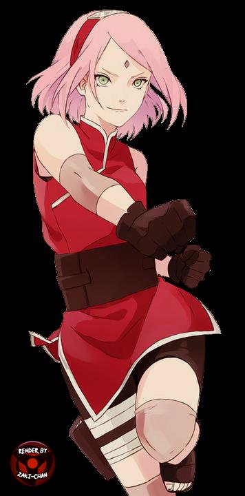 Sakura haruno render