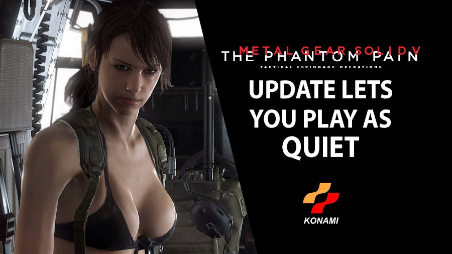 metal gear solid 5 update quiet playable