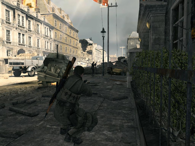 Sniper Elite V2 Gameplay