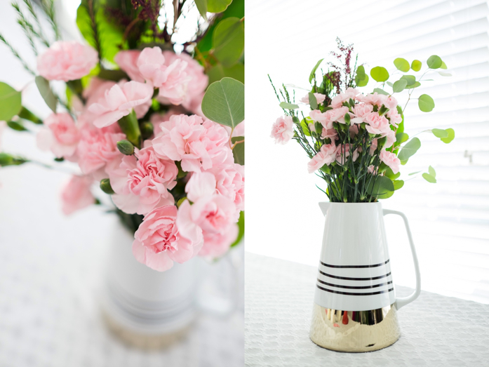 Pink Flowers for Valentine's Day