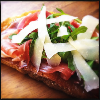 Prosciutto & Fig Jam Tartine Sandwich
