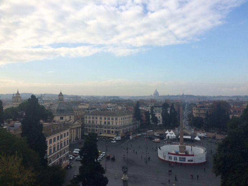 Rome Guide - view from Pincio
