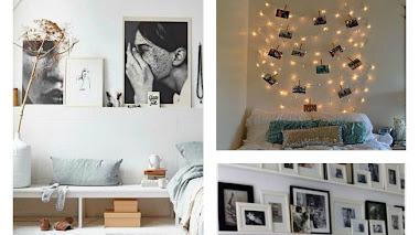 Cómo decorar tus paredes con fotos