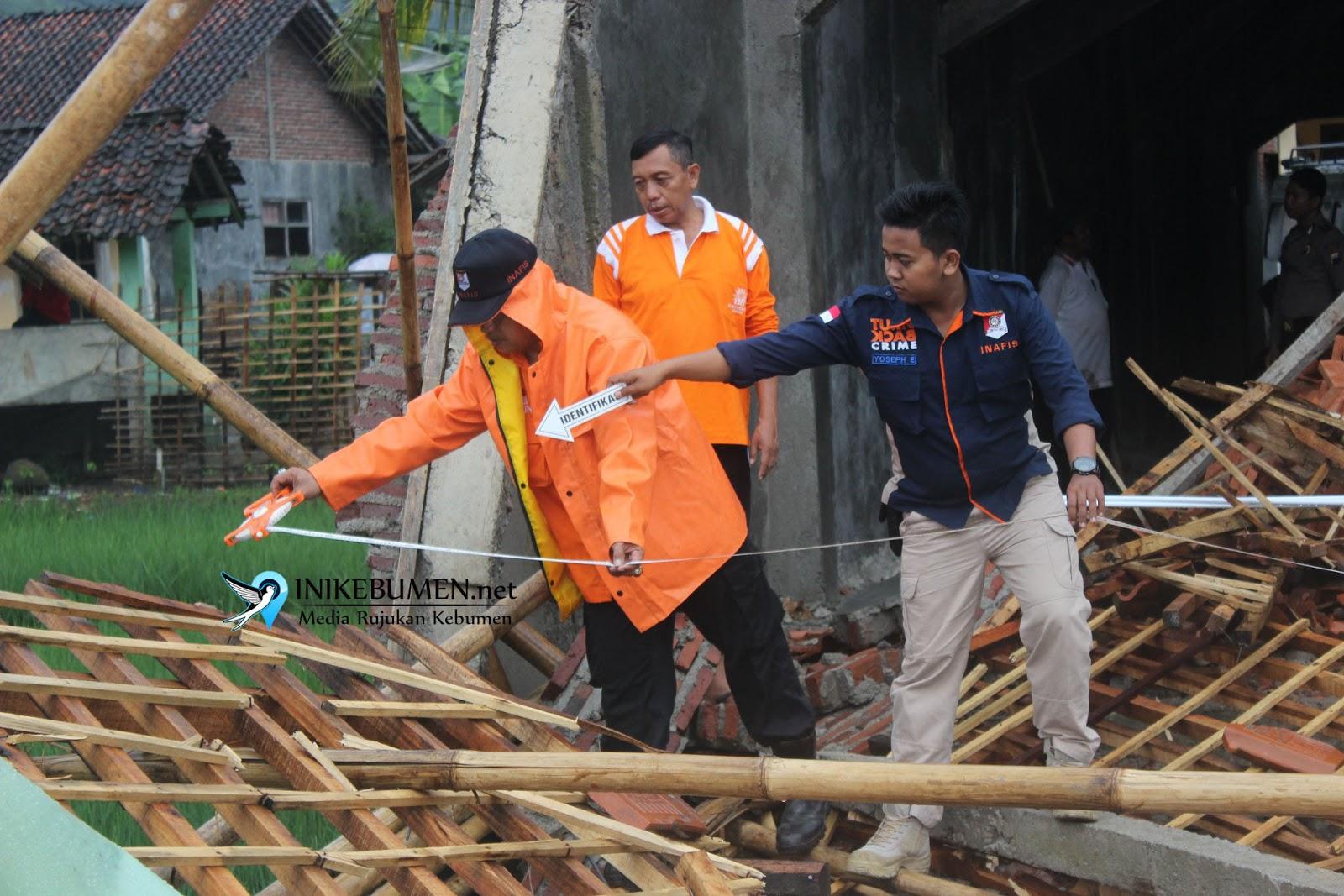Bangunan yang Ambruk di Sadang itu Gedung Dakwah Muhammadiyah