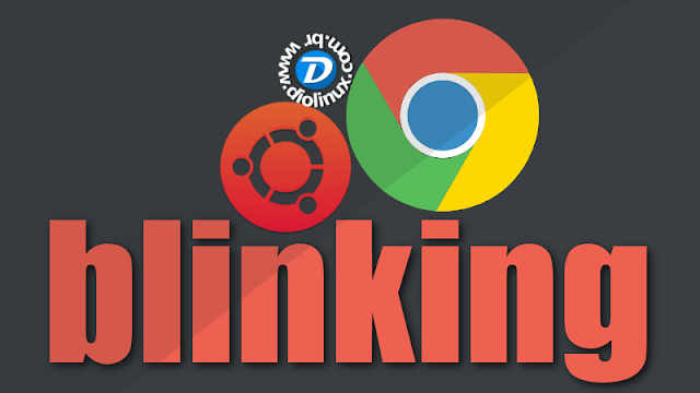 Google Chrome Blinking