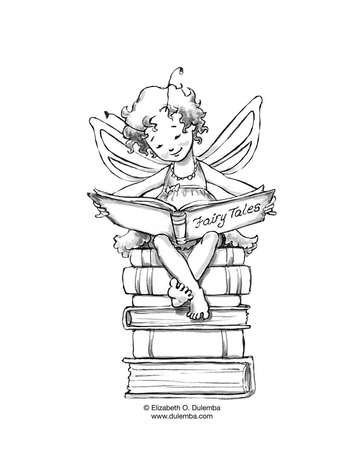 Baú Da Web Desenhos Dia Do Livro Para Colorir