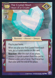 MLP The Crystal Heart, Heart of an Empire The Crystal Games CCG Card