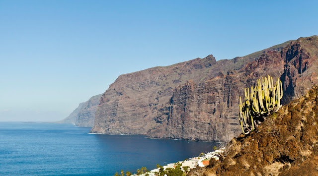 Playa de Los Gigantes, one of the most beautiful beaches in South Tenerife