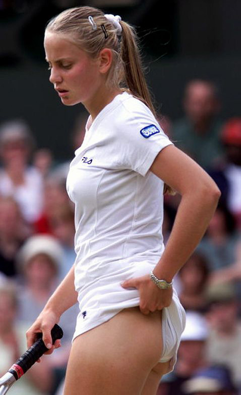 spots Jelena Dokic
