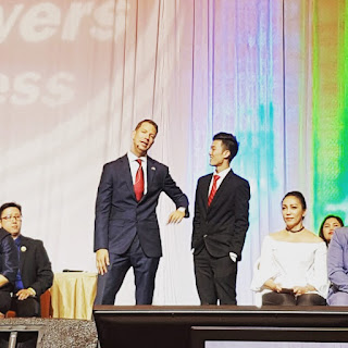 Alaric Ong with the World's number 1 wealth coach