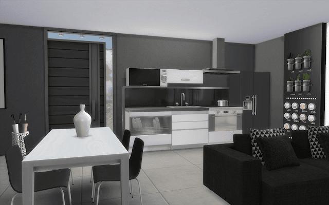 modern home sims 4