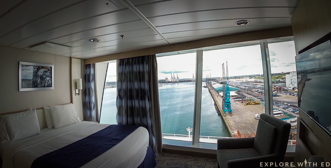 Panoramic View Stateroom, Explorer of the Seas new rooms
