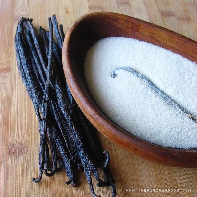 How to Make Vanilla Sugar + Ten Ways To Use It