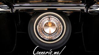 Lincoln Continental interior rear seat emblem
