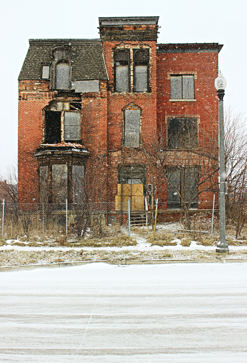 brush park archival detroit abandoned places
