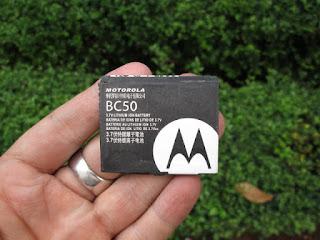 baterai Motorola BC50 jadul