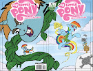 My Little Pony Micro Series #2 Comic Cover Double Variant