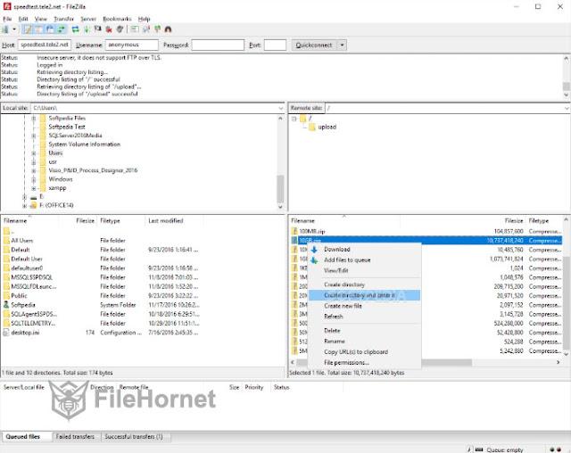 Download FileZilla 2020 for Windows