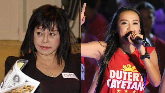Cynthia Patag joins online petition to suspend Mocha Uson Blog: She's better off on p0rn sites