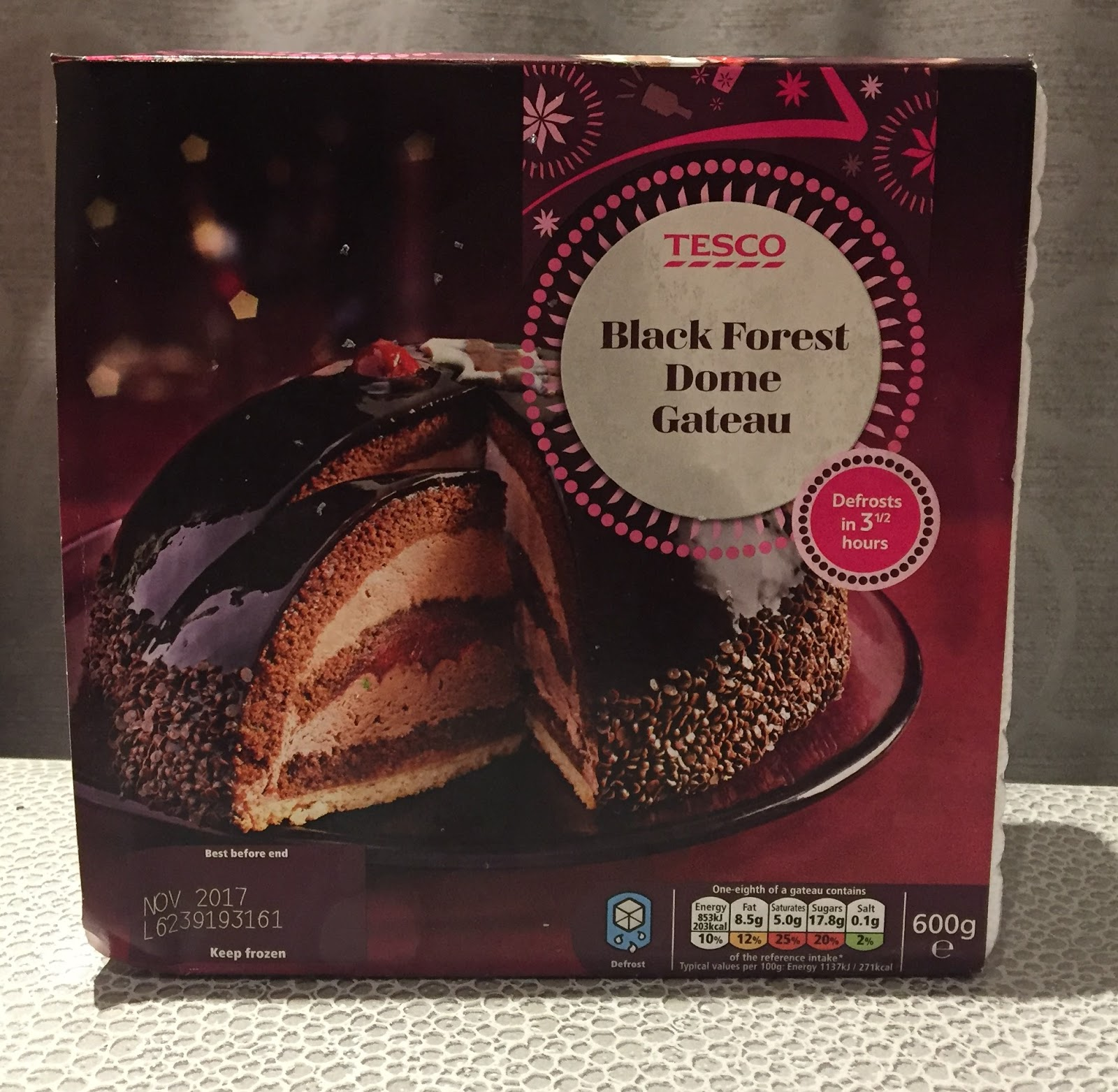 Archived Reviews From Amy Seeks New Treats Black Forest Dome Gateau